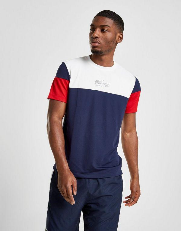 01c04f4cbd Lacoste T-shirt Contrast Homme   JD Sports