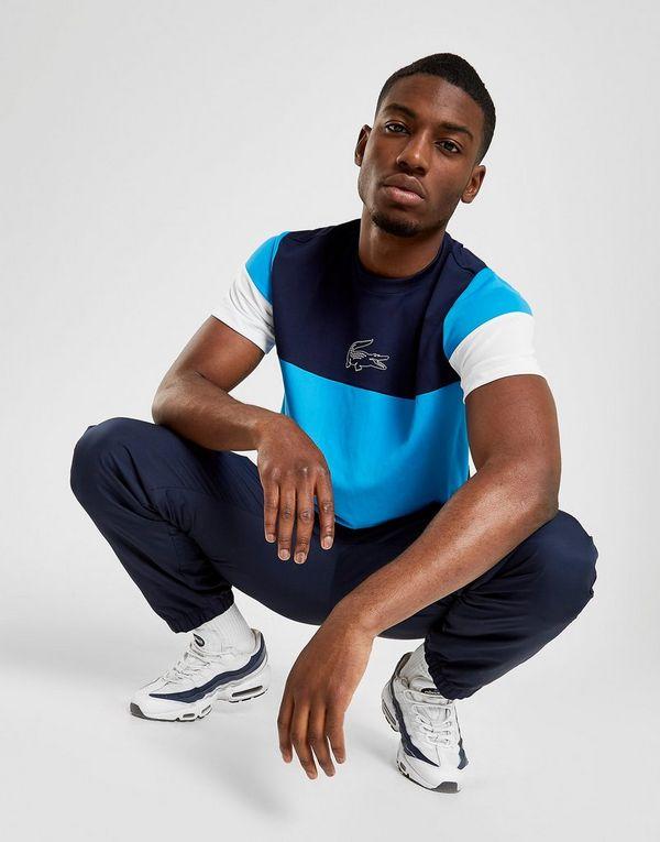 aa3baeb3b Lacoste Colour Block Short Sleeve T-Shirt   JD Sports Ireland
