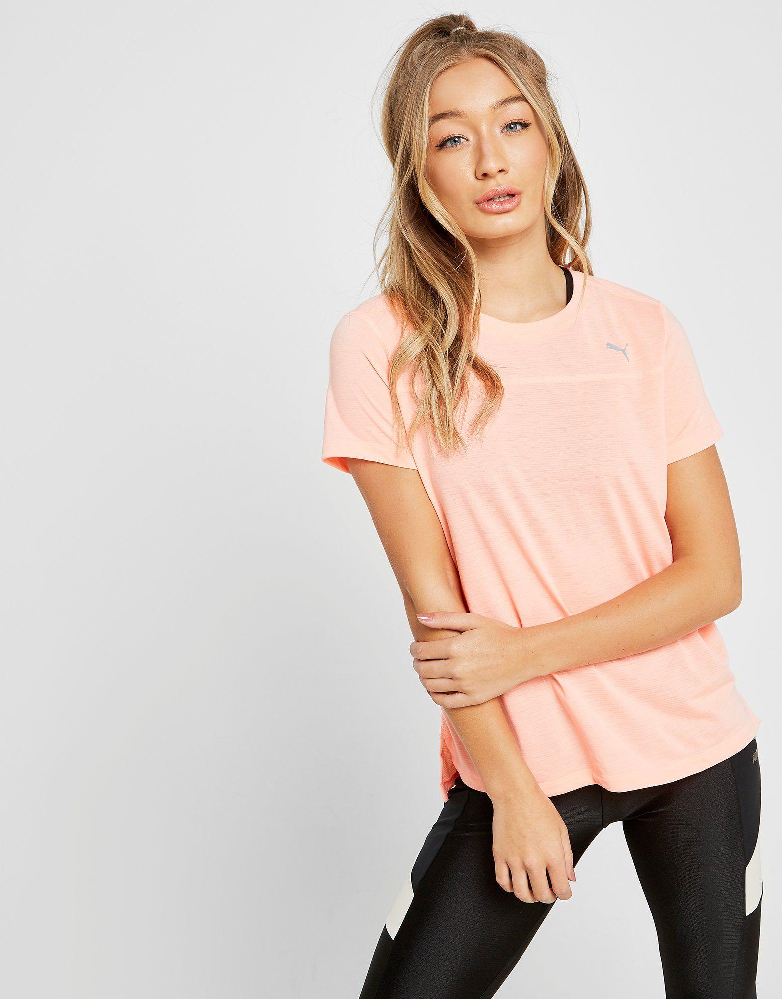 PUMA Running Short Sleeve T-Shirt