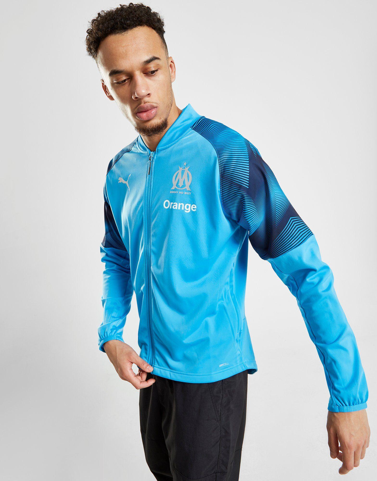 PUMA Olympique Marseille Stadium Jacket