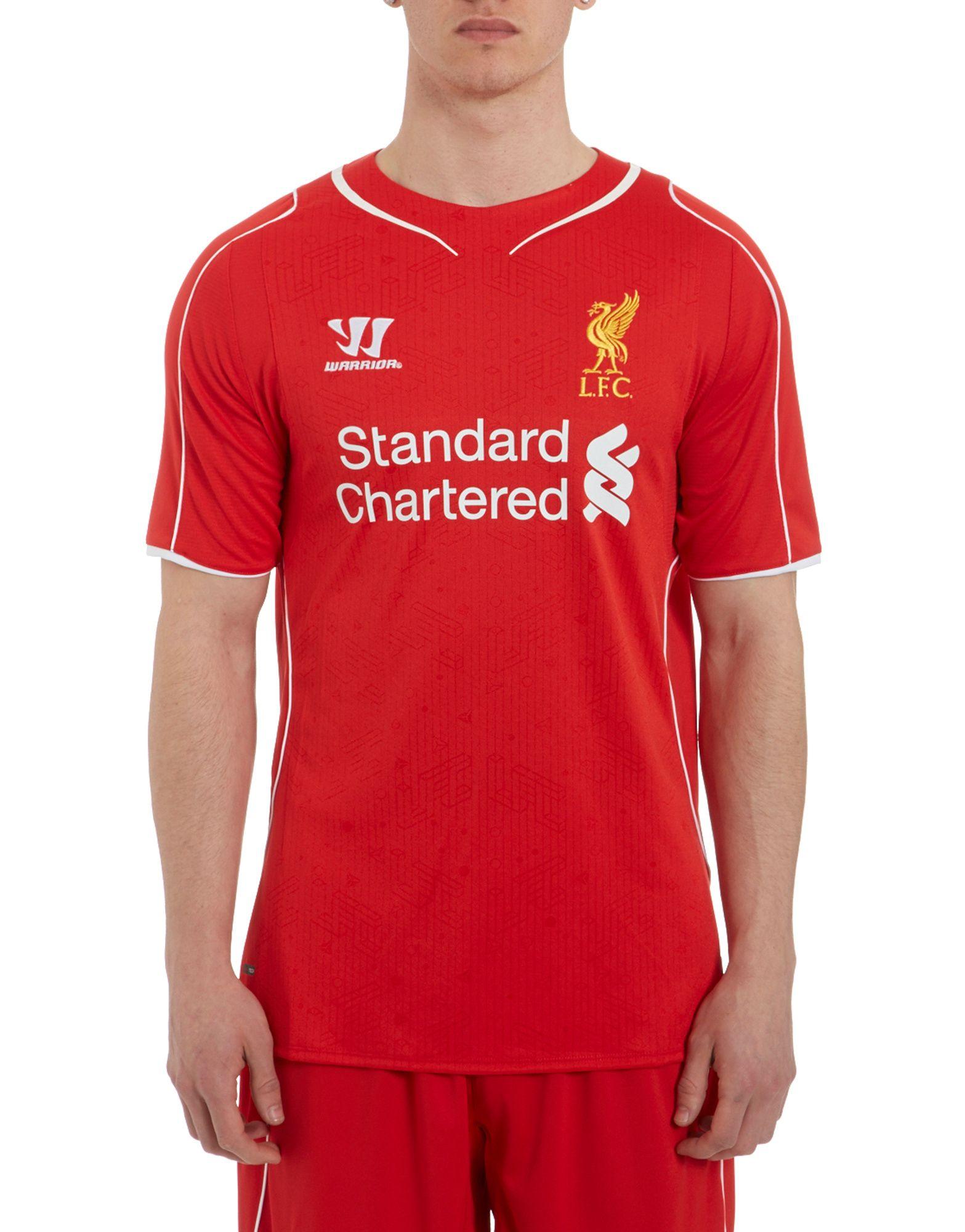 Warrior Sports Liverpool 2014 Home Shirt