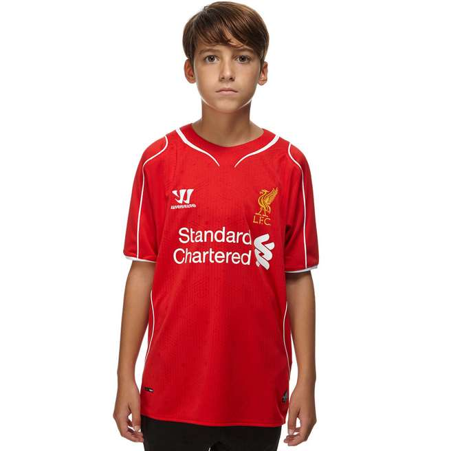Warrior Sports Liverpool 2014 Junior Home Shirt