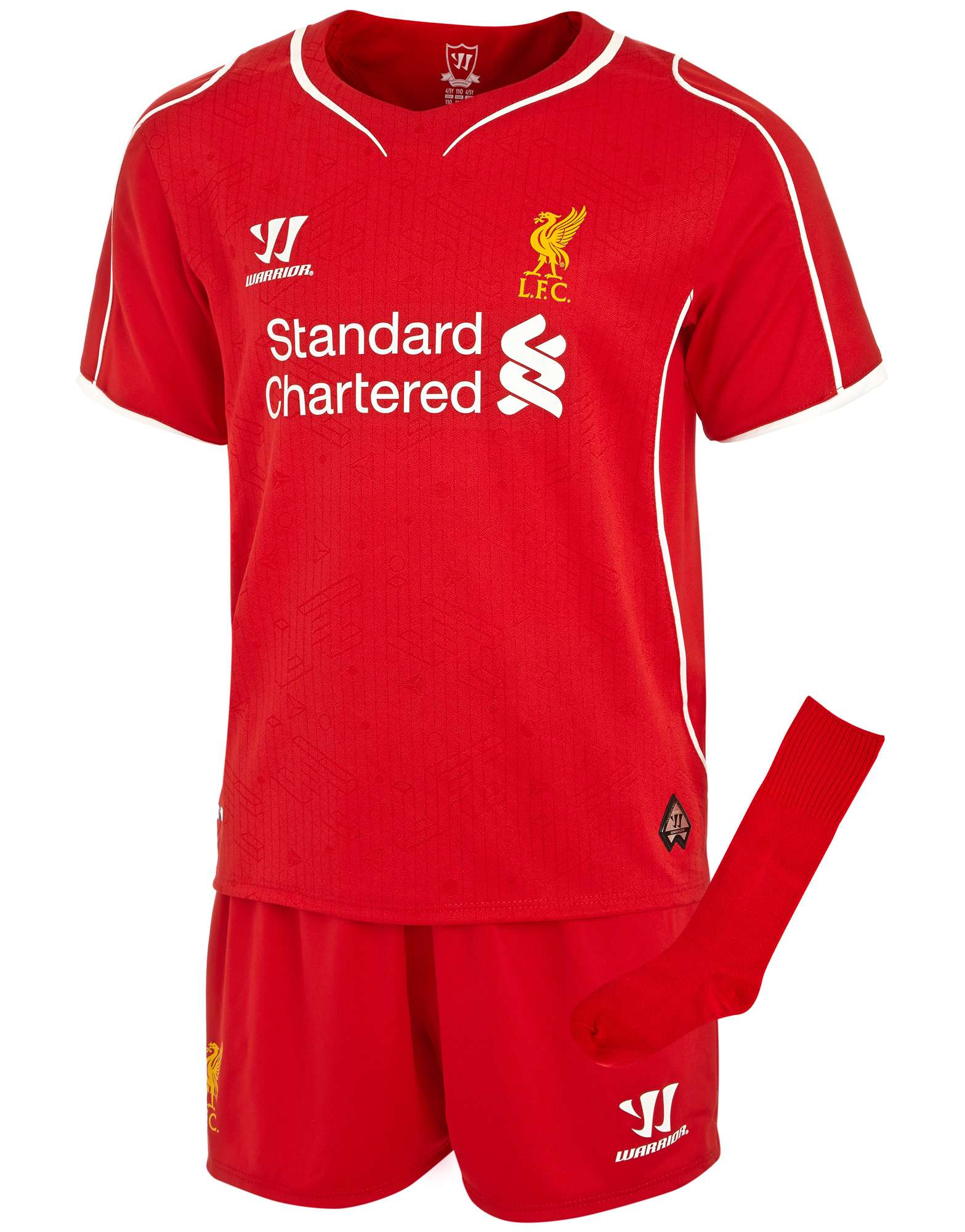 Warrior Sports Liverpool 2014 Infant Home Kit