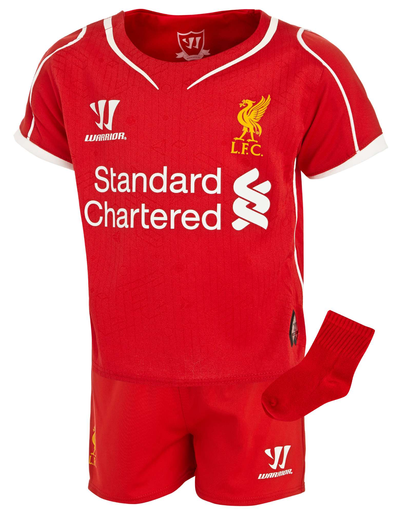 Warrior Sports Liverpool 2014 Baby Home Kit