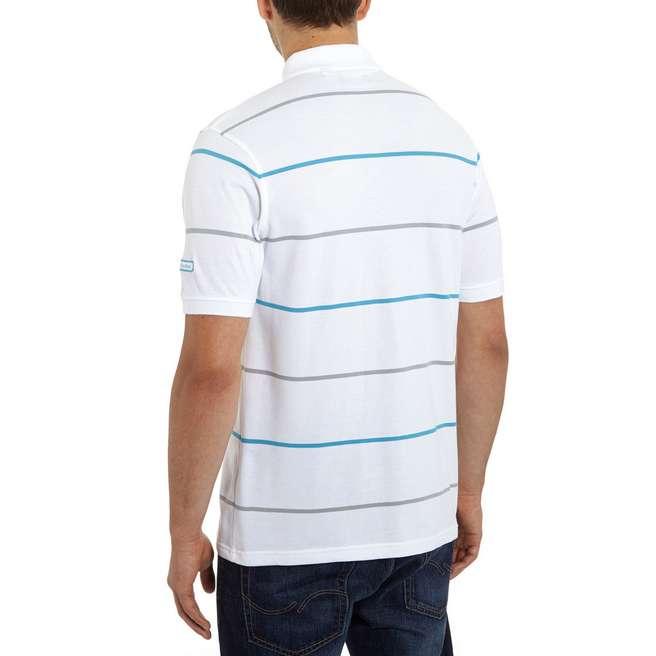 Sergio Tacchini Match Stripe Polo Shirt