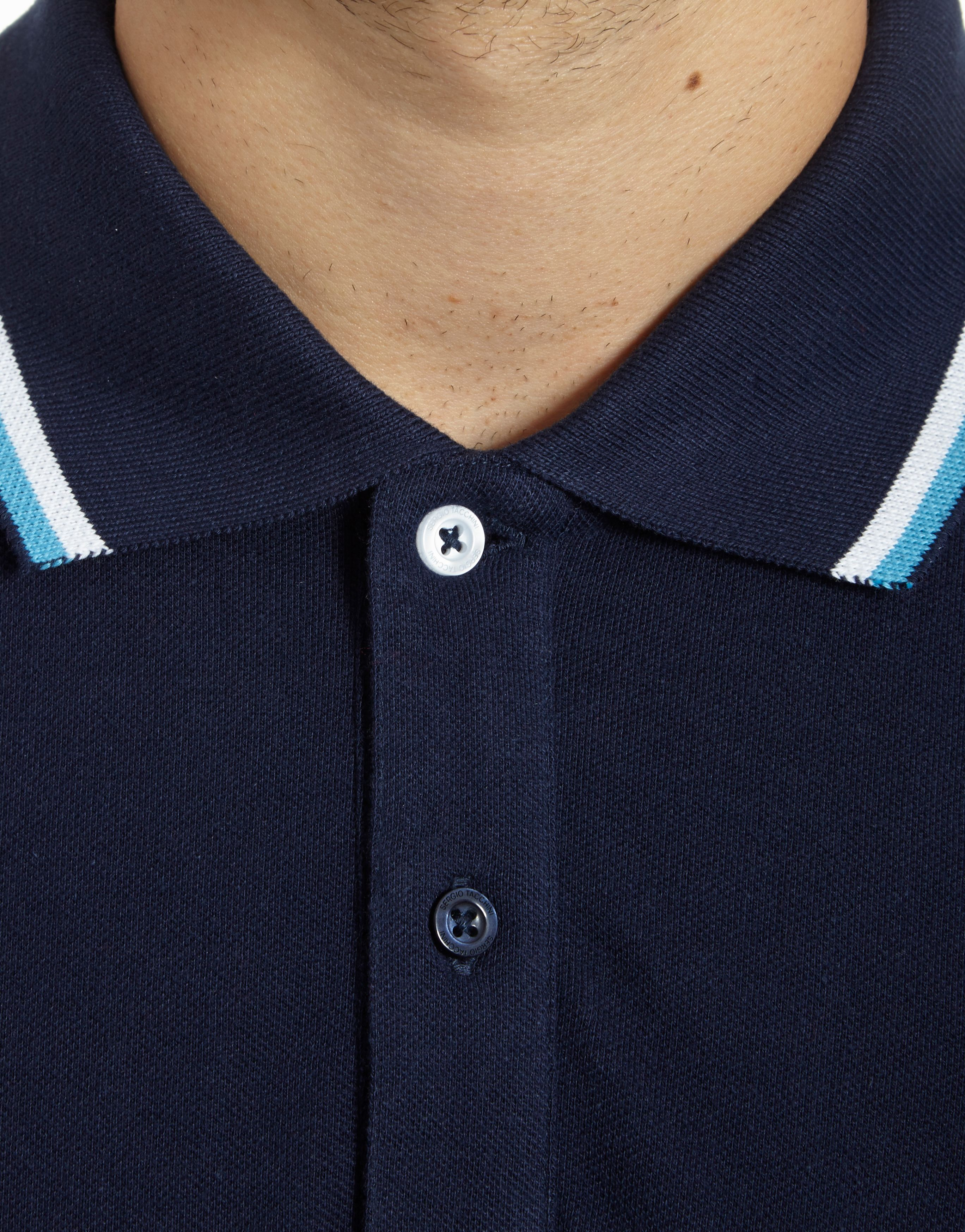 Sergio Tacchini Smash Plain Polo Shirt