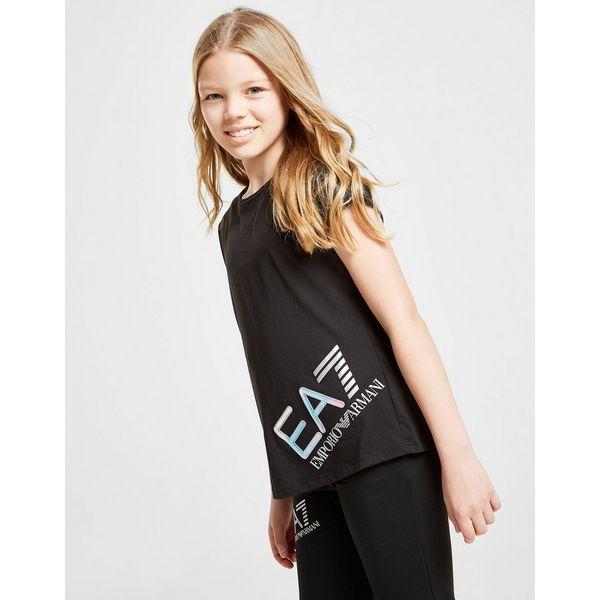 Emporio Armani EA7 Girls' Training Logo T-Shirt Junior