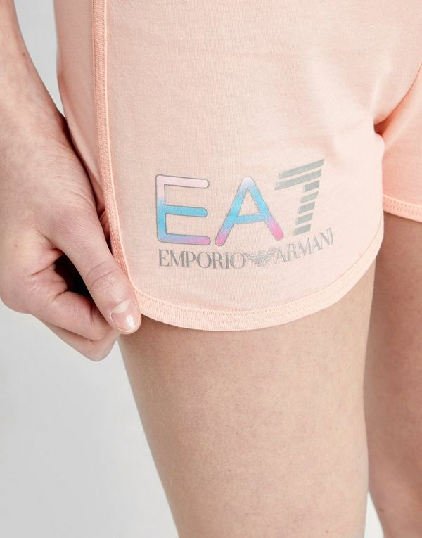 Emporio Armani EA7 Girls' Training Logo Shorts Junior