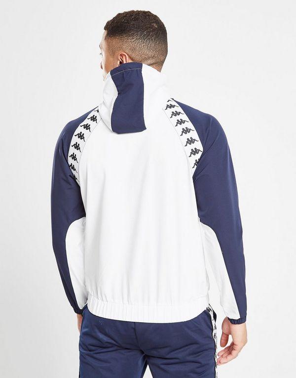 Kappa Bakit Overhead Windrunner Jacket Heren