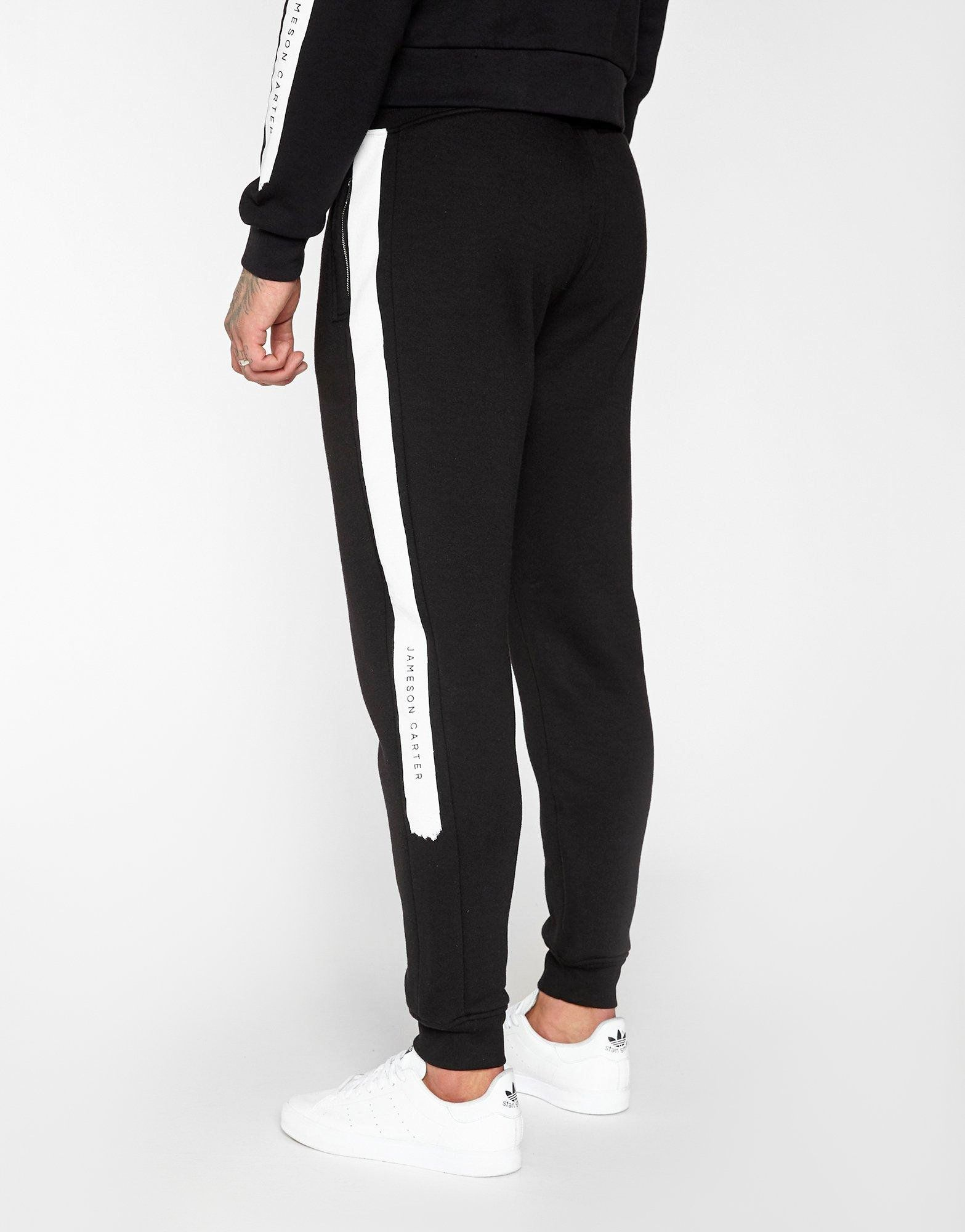 JAMESON CARTER Paint Stripe Track Pants