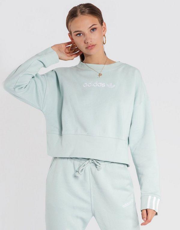 adidas Originals Coeeze Cropped Sweatshirt   JD Sports d6eb41d7fe6e