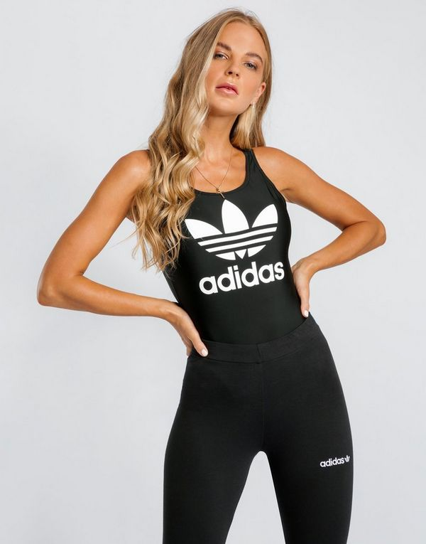 9db4b340a5f6 adidas Originals 3-Stripes Trefoil Swimsuit