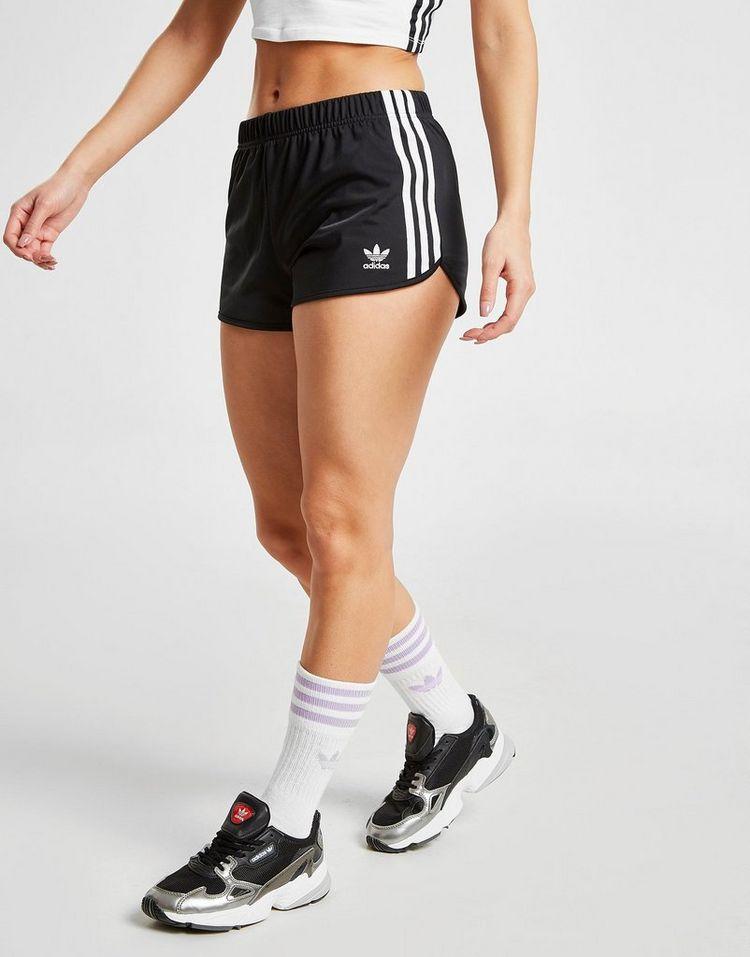 adidas Originals 3-Stripes Poly Shorts Dames