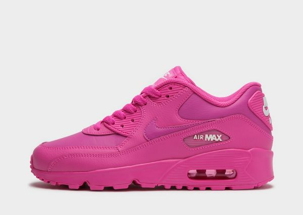 air max 90 leather junior blanche et or