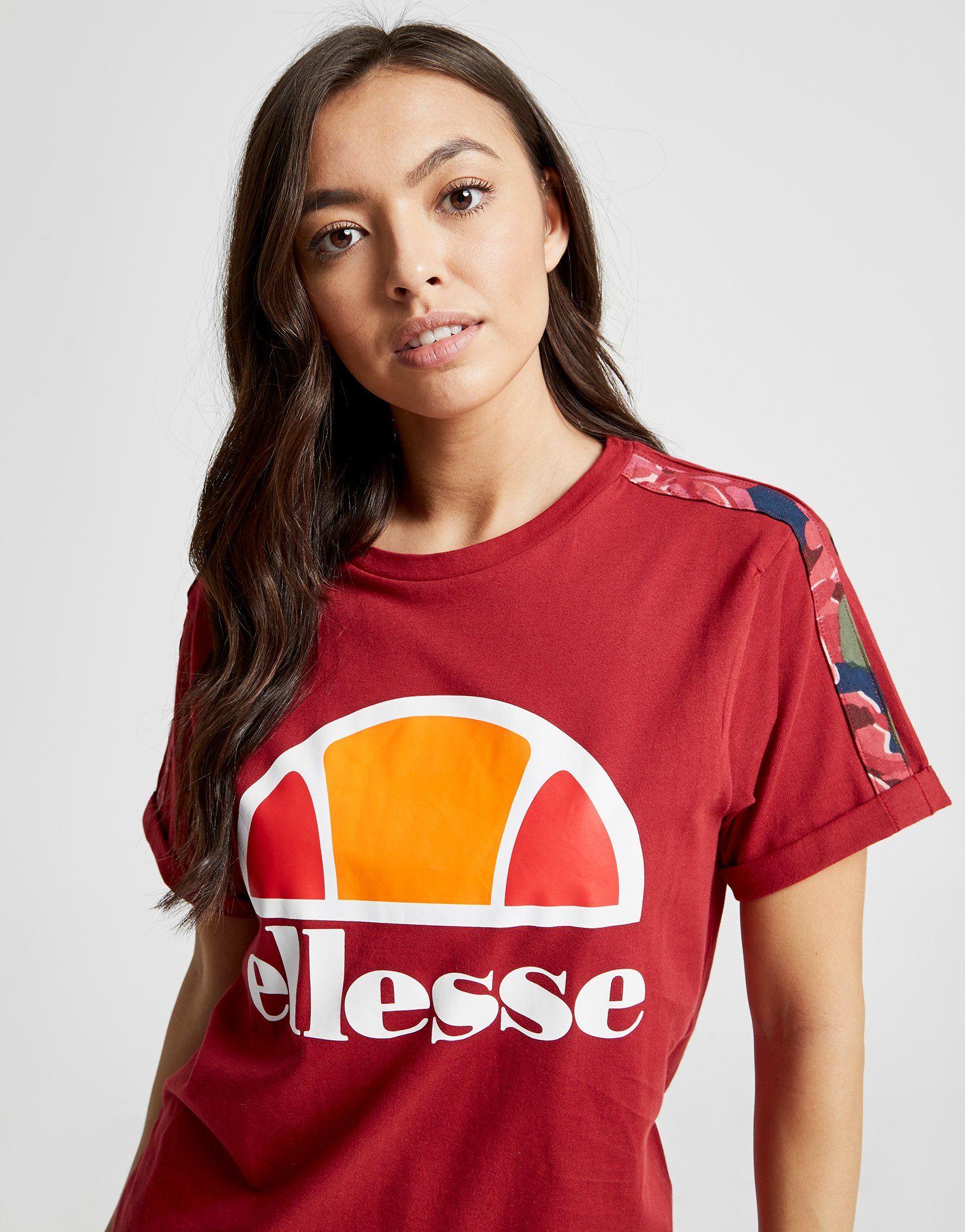 Ellesse T-shirt Anne-Marie Stripe Boyfriend Femme