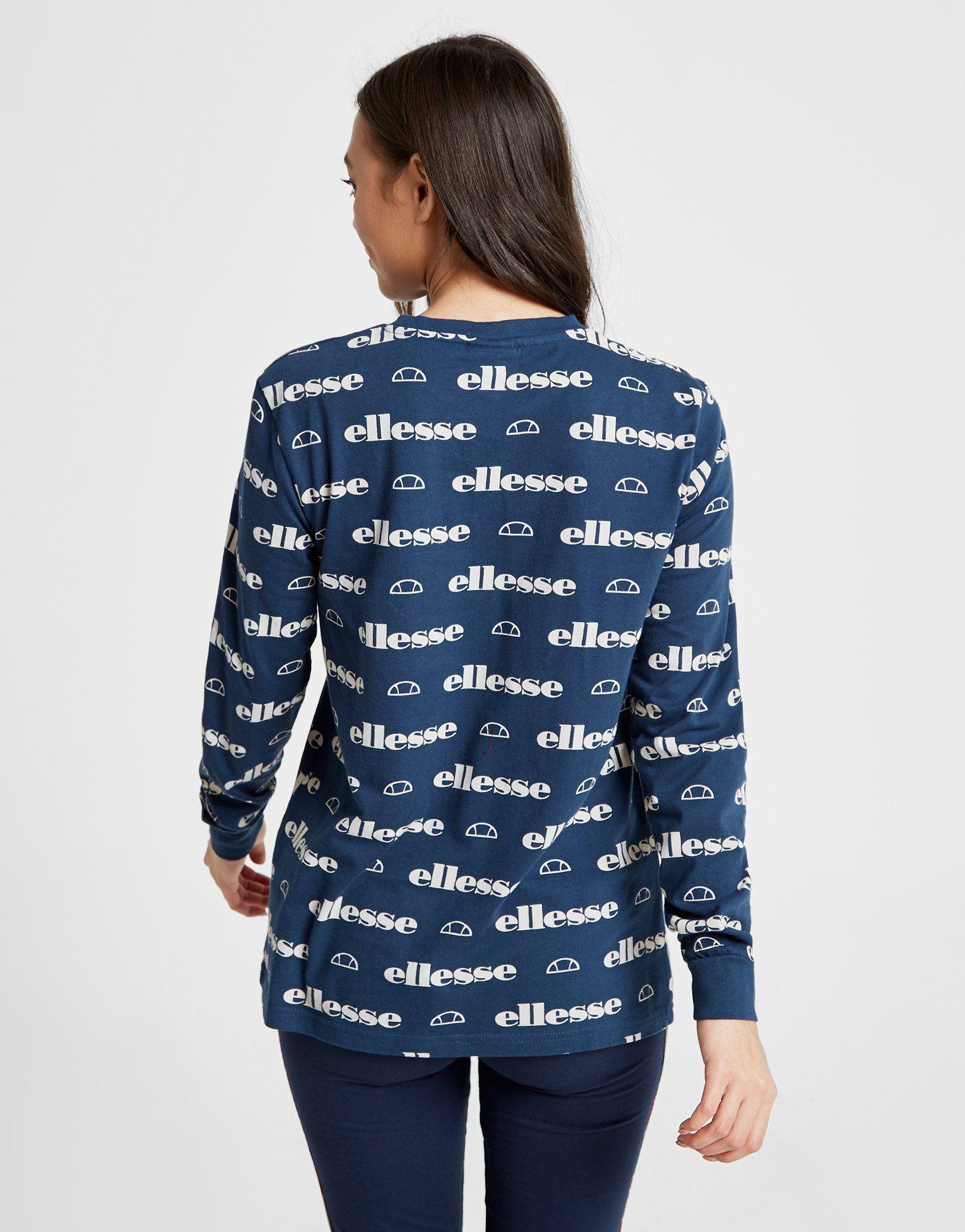 Ellesse T-shirt Boyfriend Anne-Marie All Over Print Femme