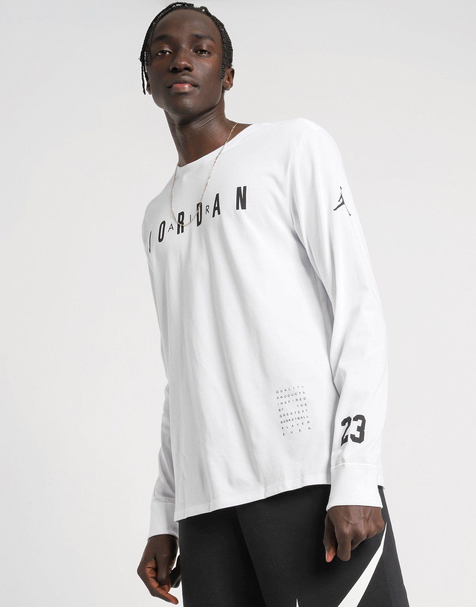 JORDAN HO 1 Long-Sleeve Basketball T-Shirt