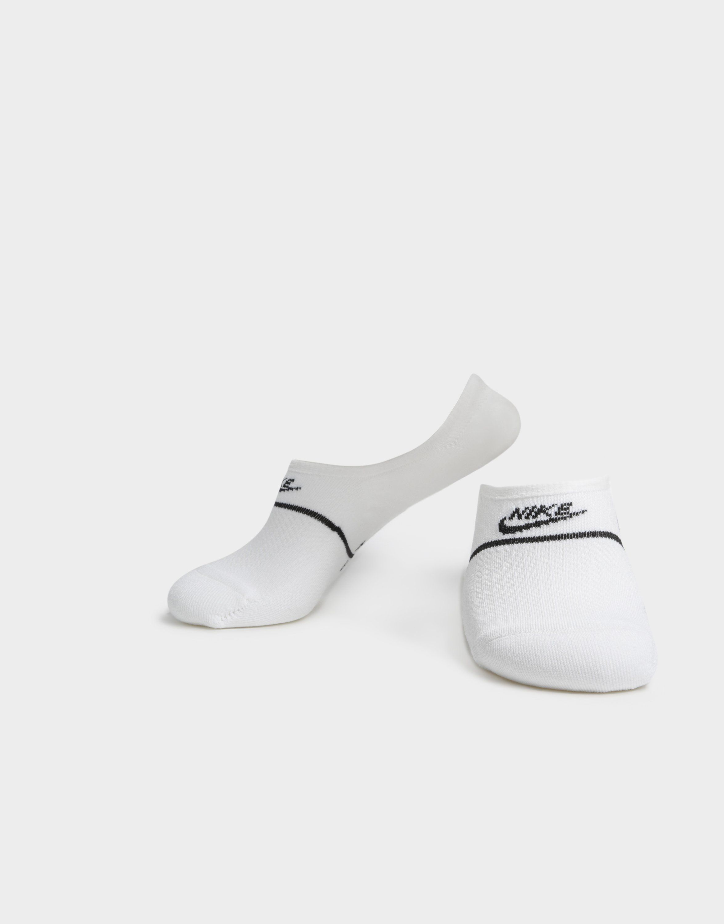 NIKE 2 Pack SNKR Sox Essential No-Show Socks