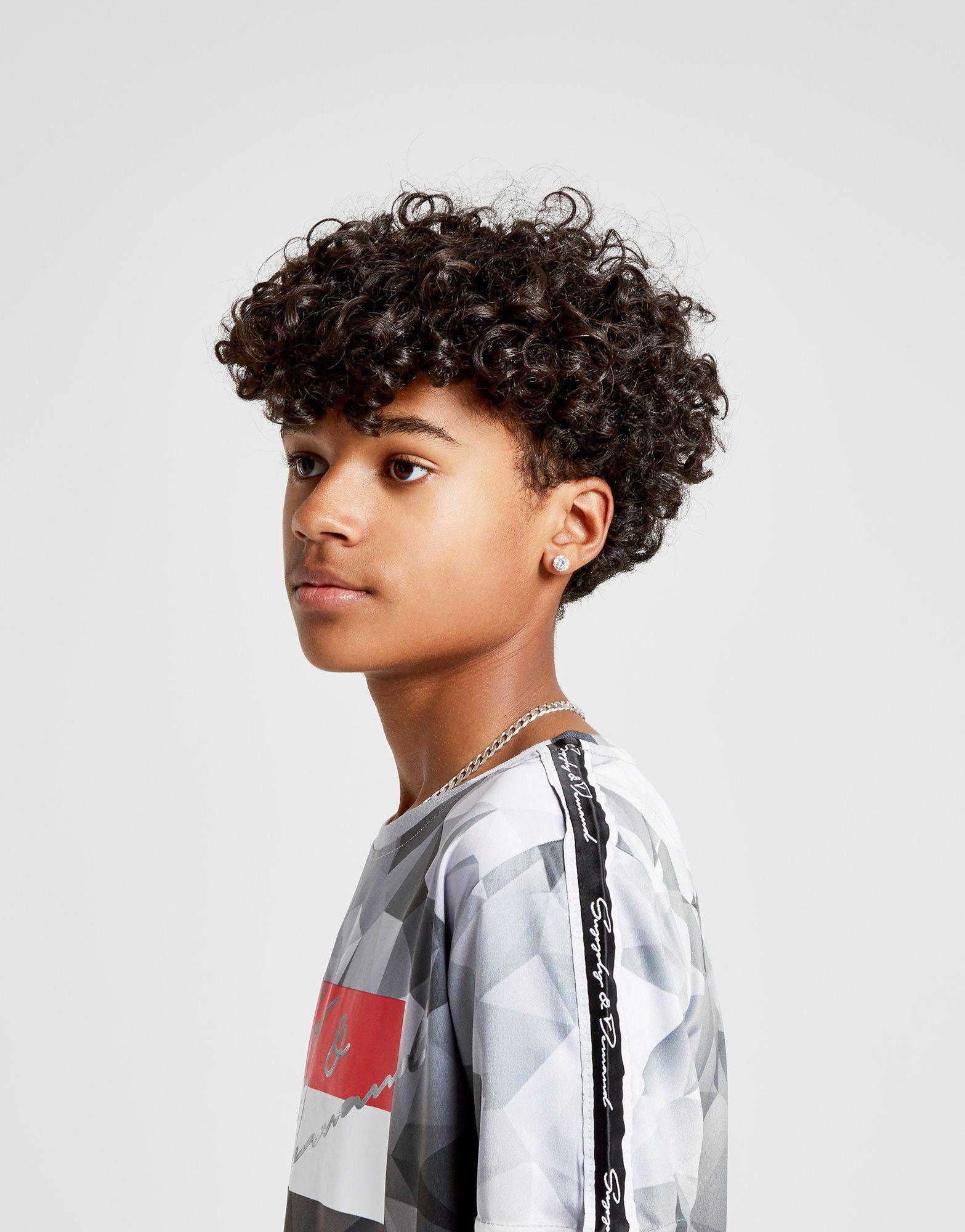 Supply & Demand Geometric Fade T-Shirt Junior