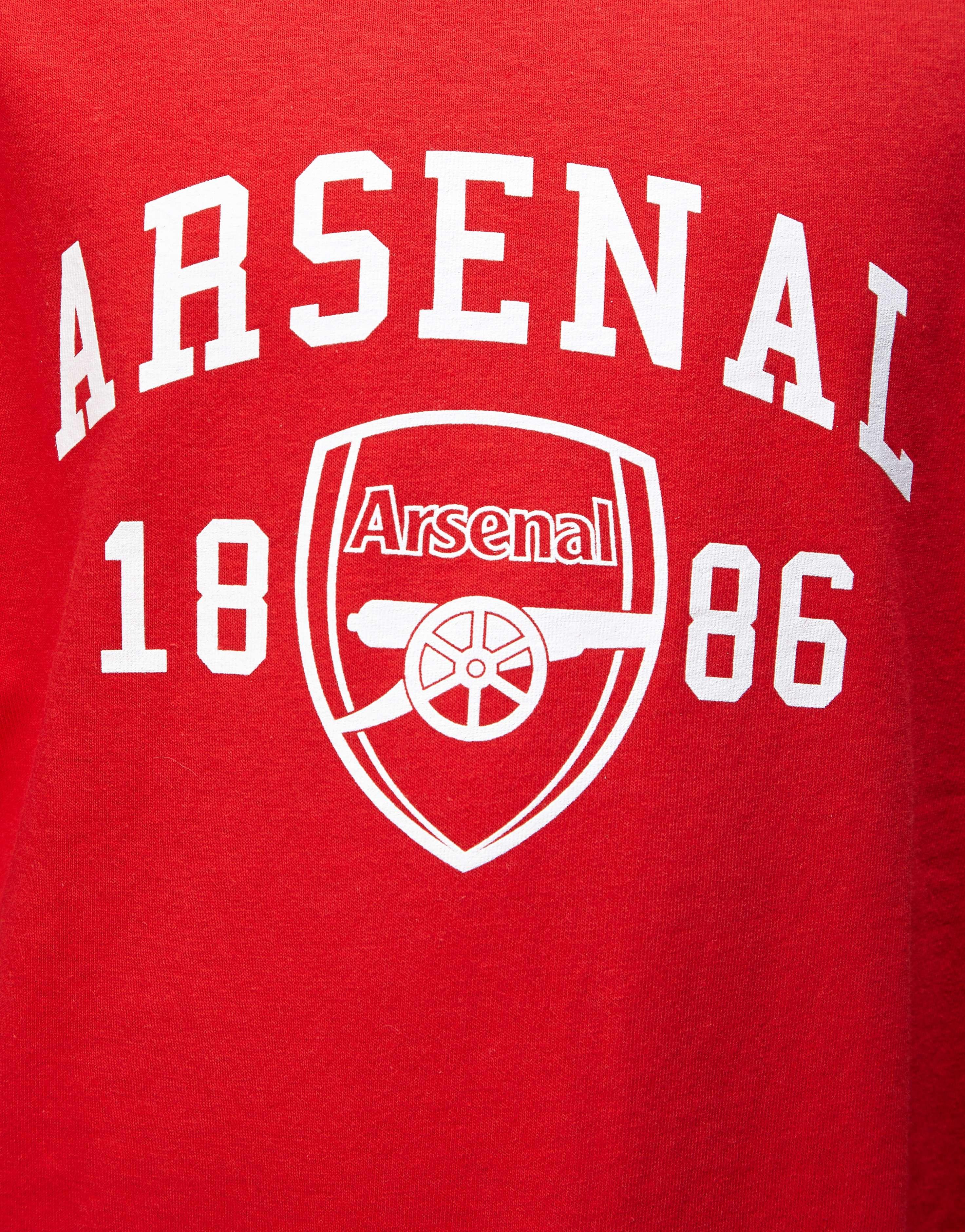 Official Team Arsenal 1886 T-Shirt Junior