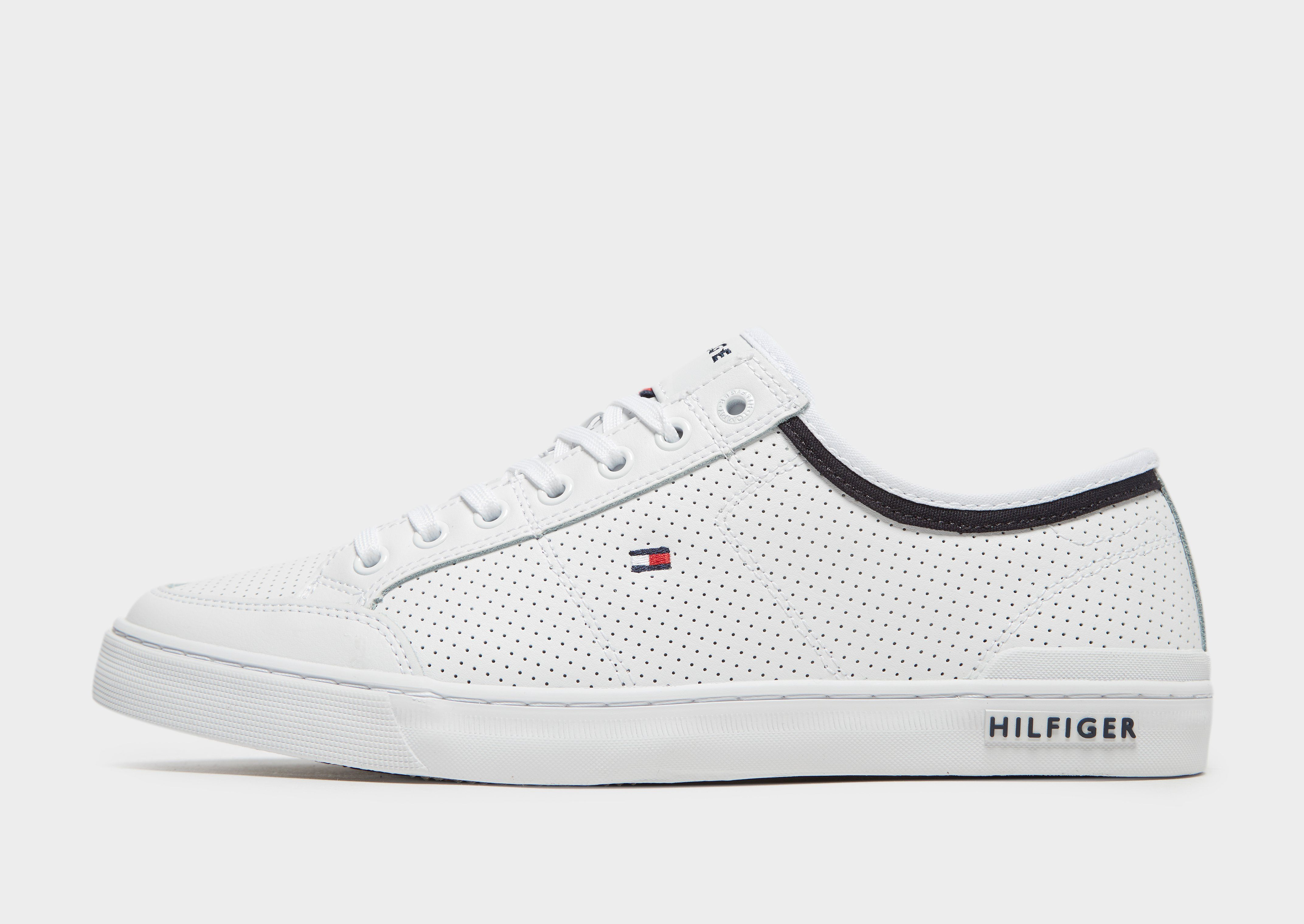 12d6691adeeec8 Tommy Hilfiger Core Perforated Leather