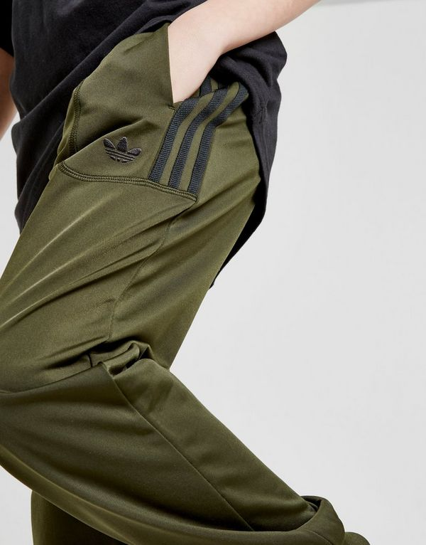 new concept 7cd6a 19d73 adidas Originals Sport Poly Track Pants Junior