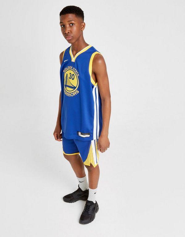 710777f942de8 Nike NBA Curry Golden State Warriors Jersey Junior