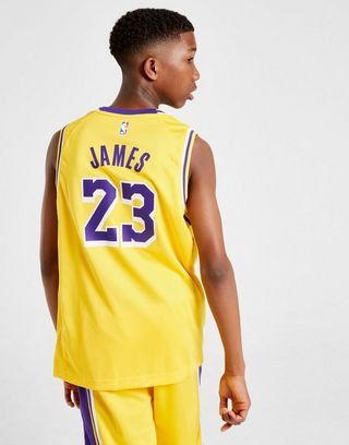 Nike NBA Los Angeles Lakers James #23 Jersey Junior