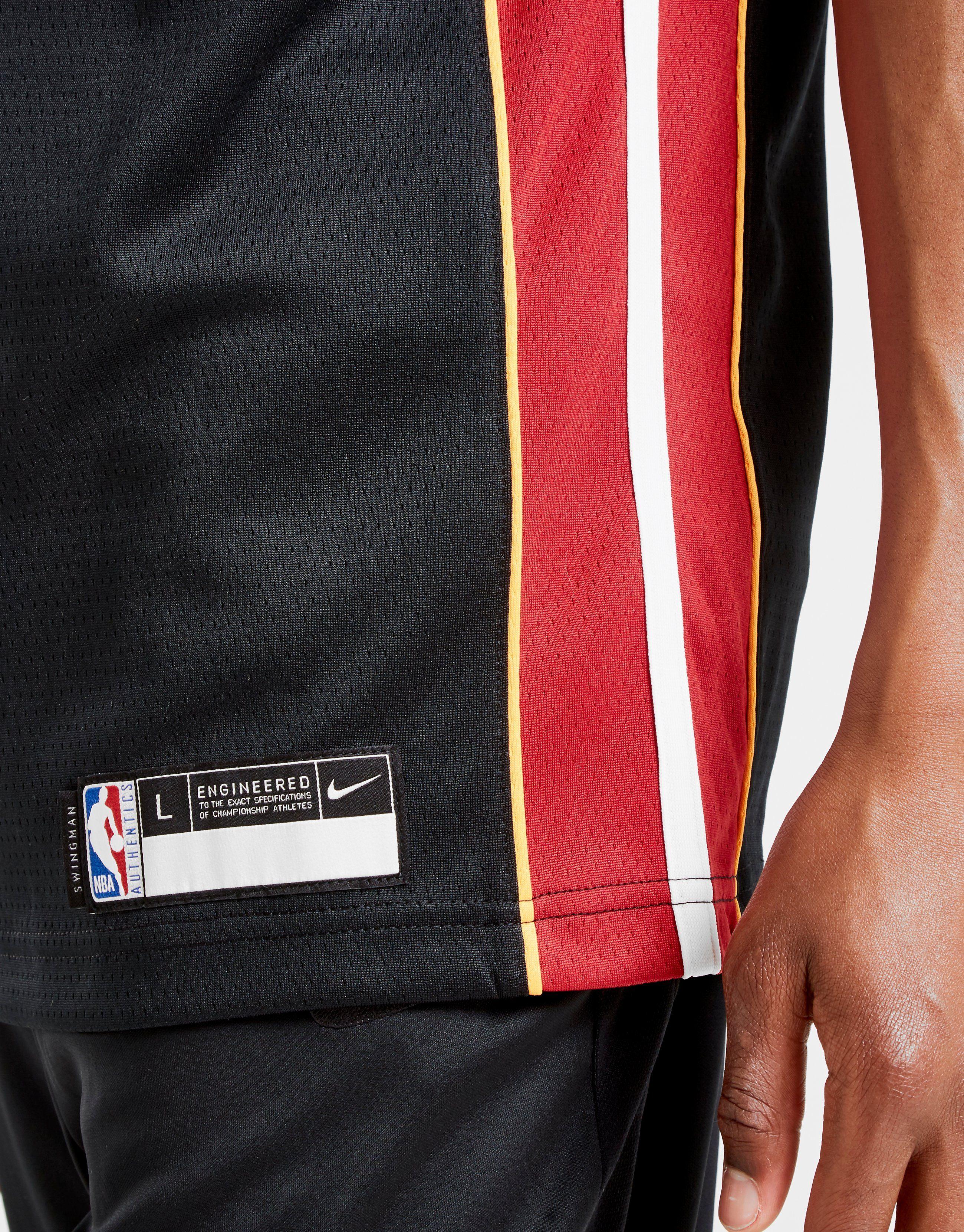 Nike NBA Whiteside Miami Heat Trikot Kinder