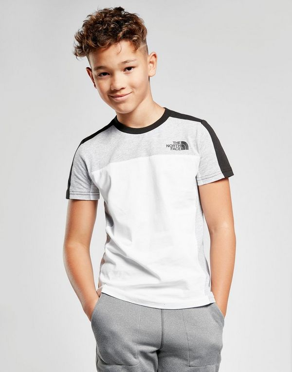 The North Face Colour Block T-Shirt Junior