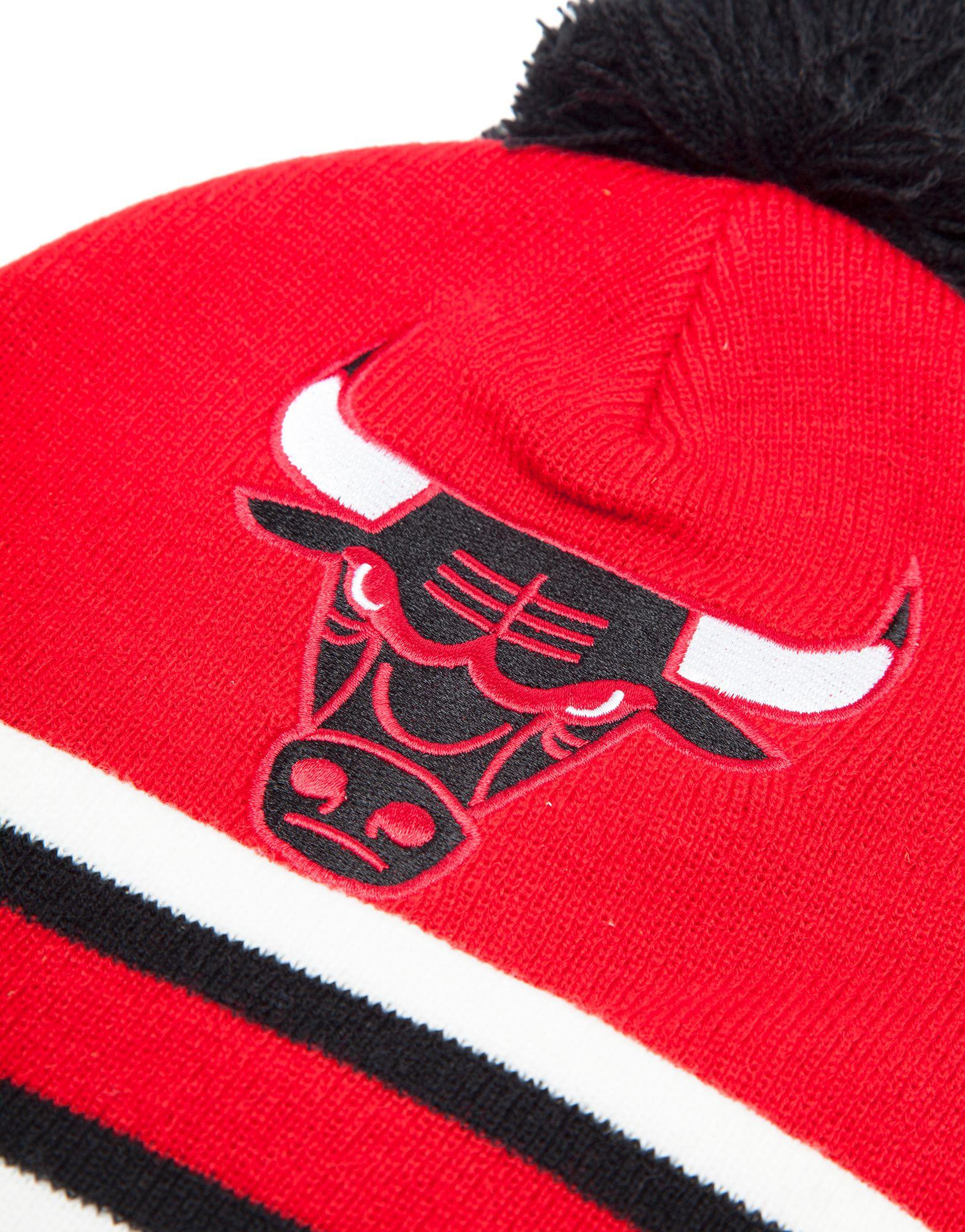 Mitchell & Ness NBA Chicago Bulls Bobble Hat