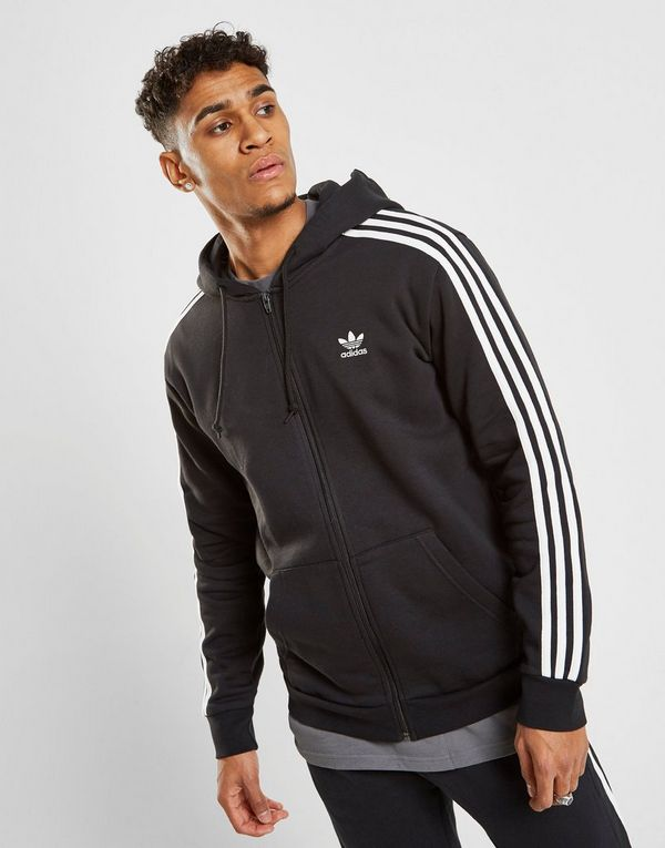 f229d8b1db51 adidas Originals 3-Stripes Full Zip Hoodie