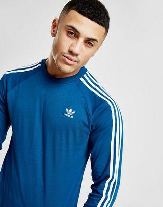 adidas Originals California Long Sleeve T Shirt | JD Sports
