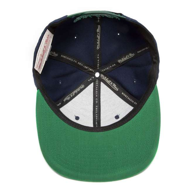 Mitchell & Ness Notre Dame Fighting Irish Triple Snapback Cap