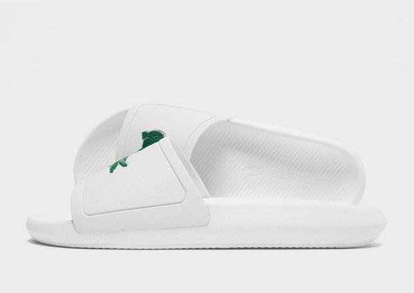 Lacoste Croco Slides Heren