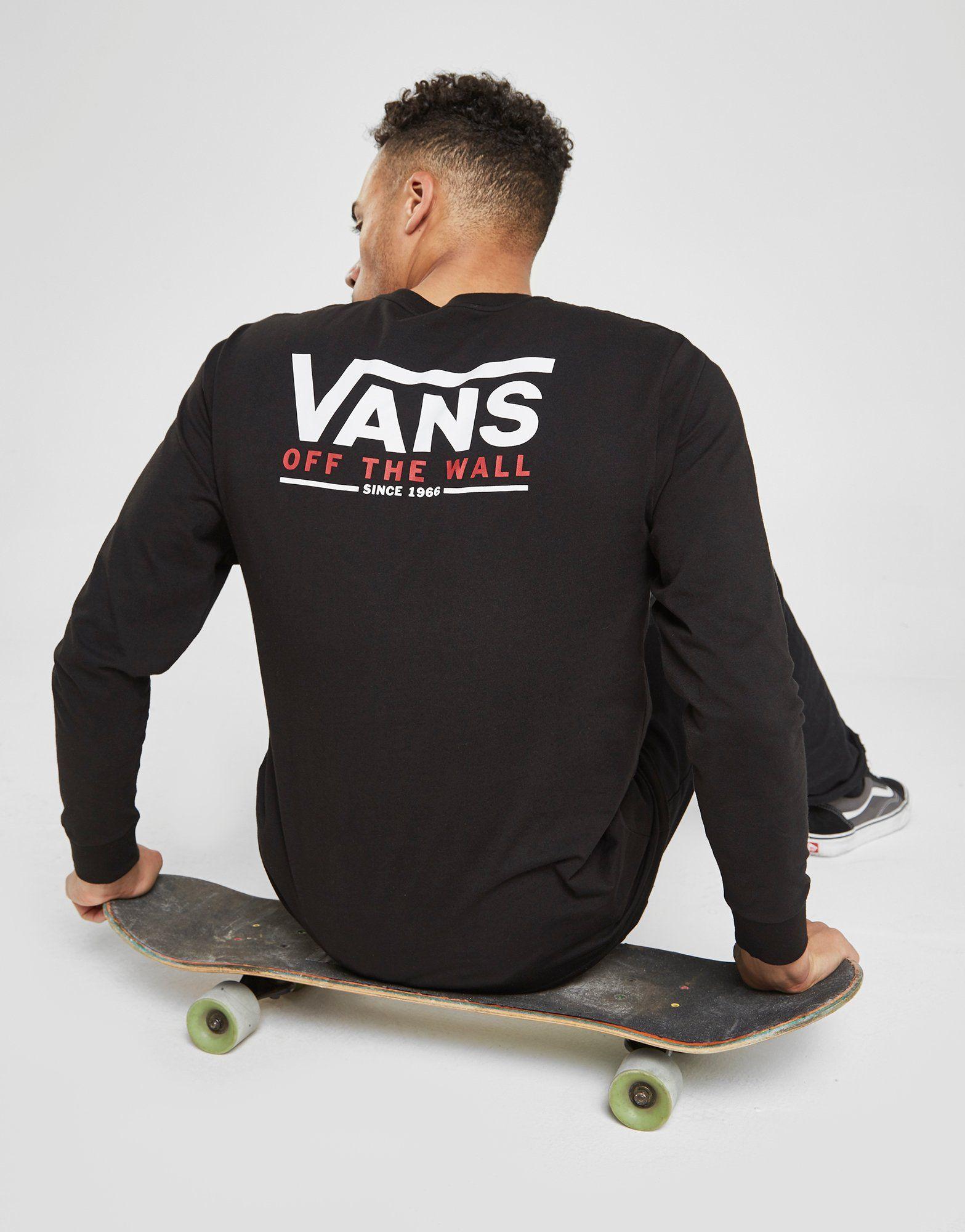 Vans T-shirt à manches longues Carter Homme