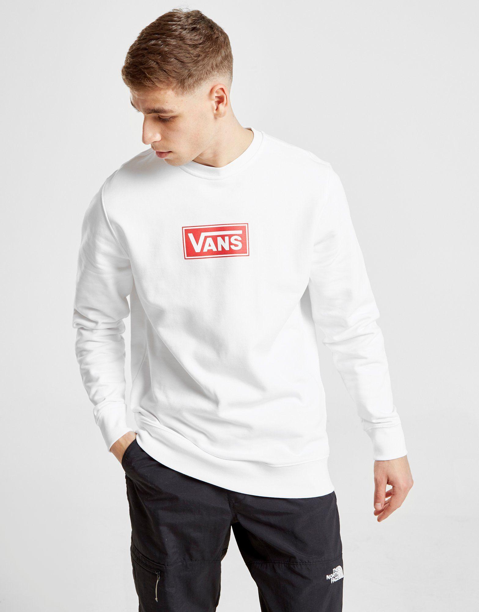 Vans Red Box Crew Sweatshirt
