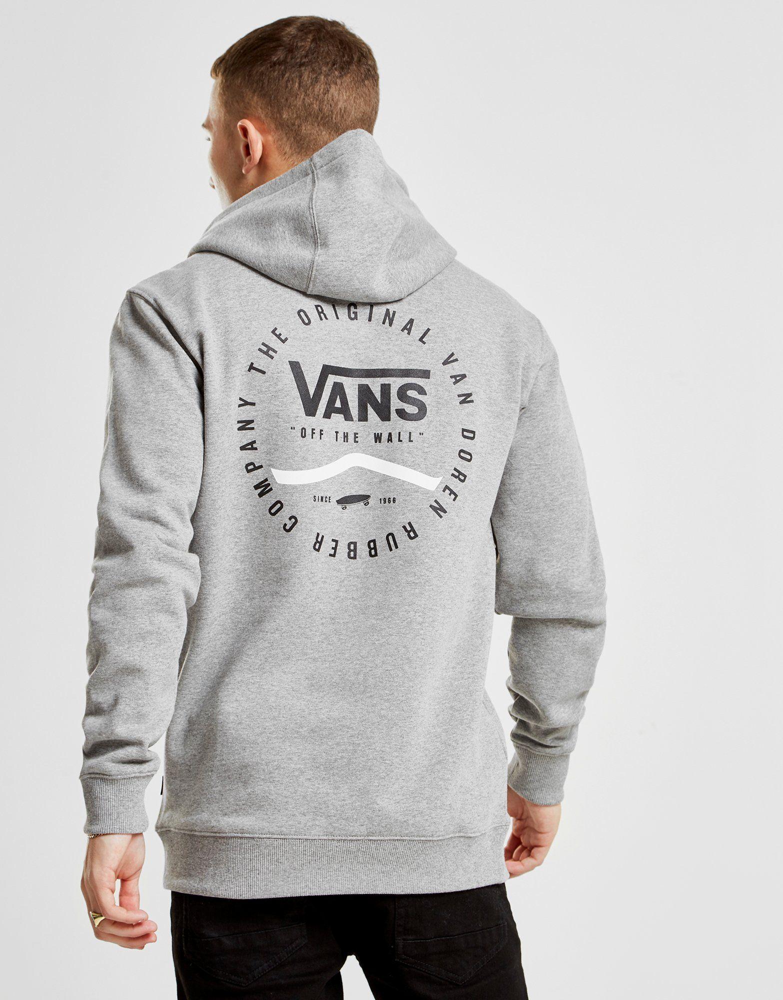 Vans Sweat à capuche Circle Logo Homme