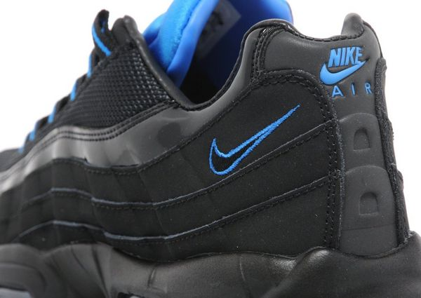 the latest a9332 d5801 air max 95 blue and black
