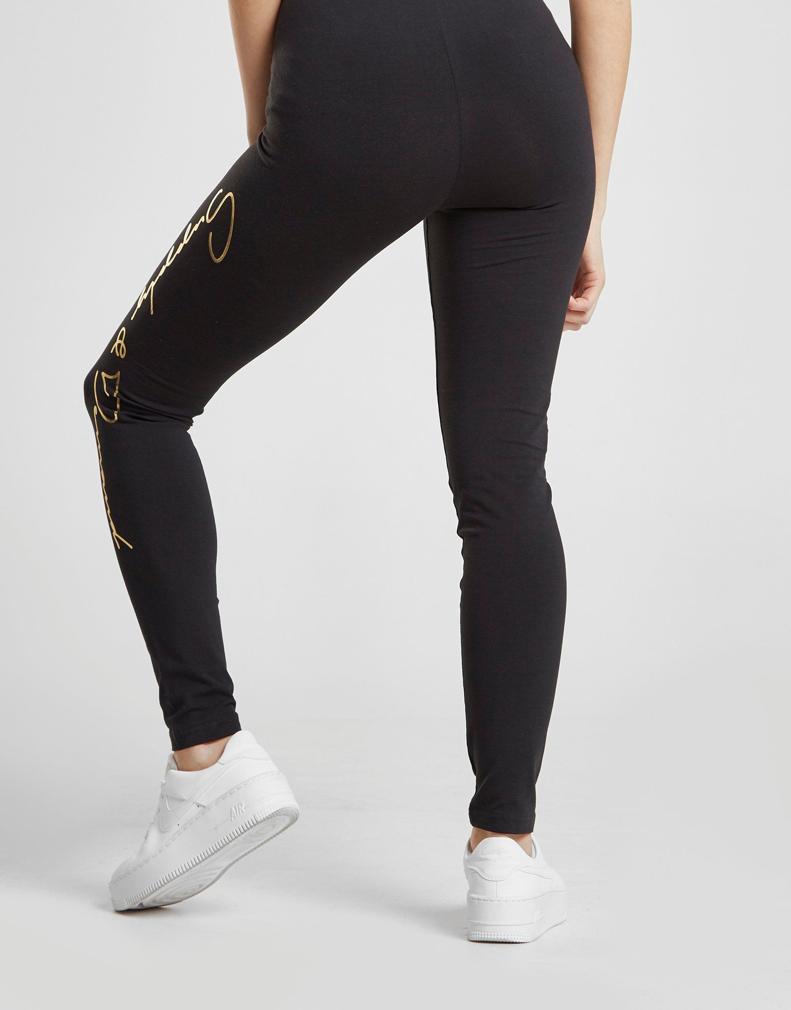 Supply & Demand Metallic Script Leggings