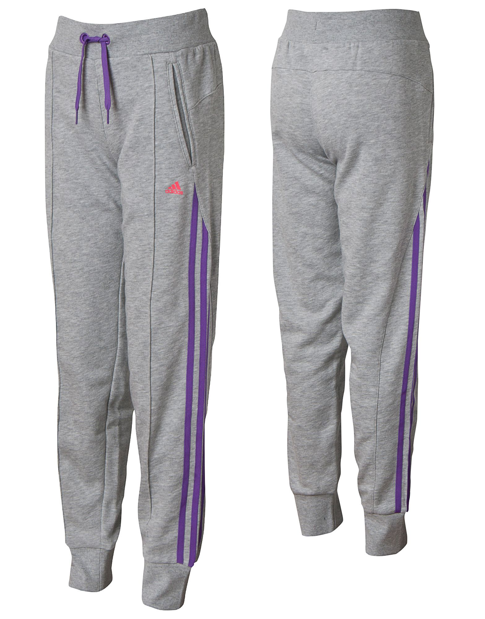 adidas Girls Cuffed Pants Junior
