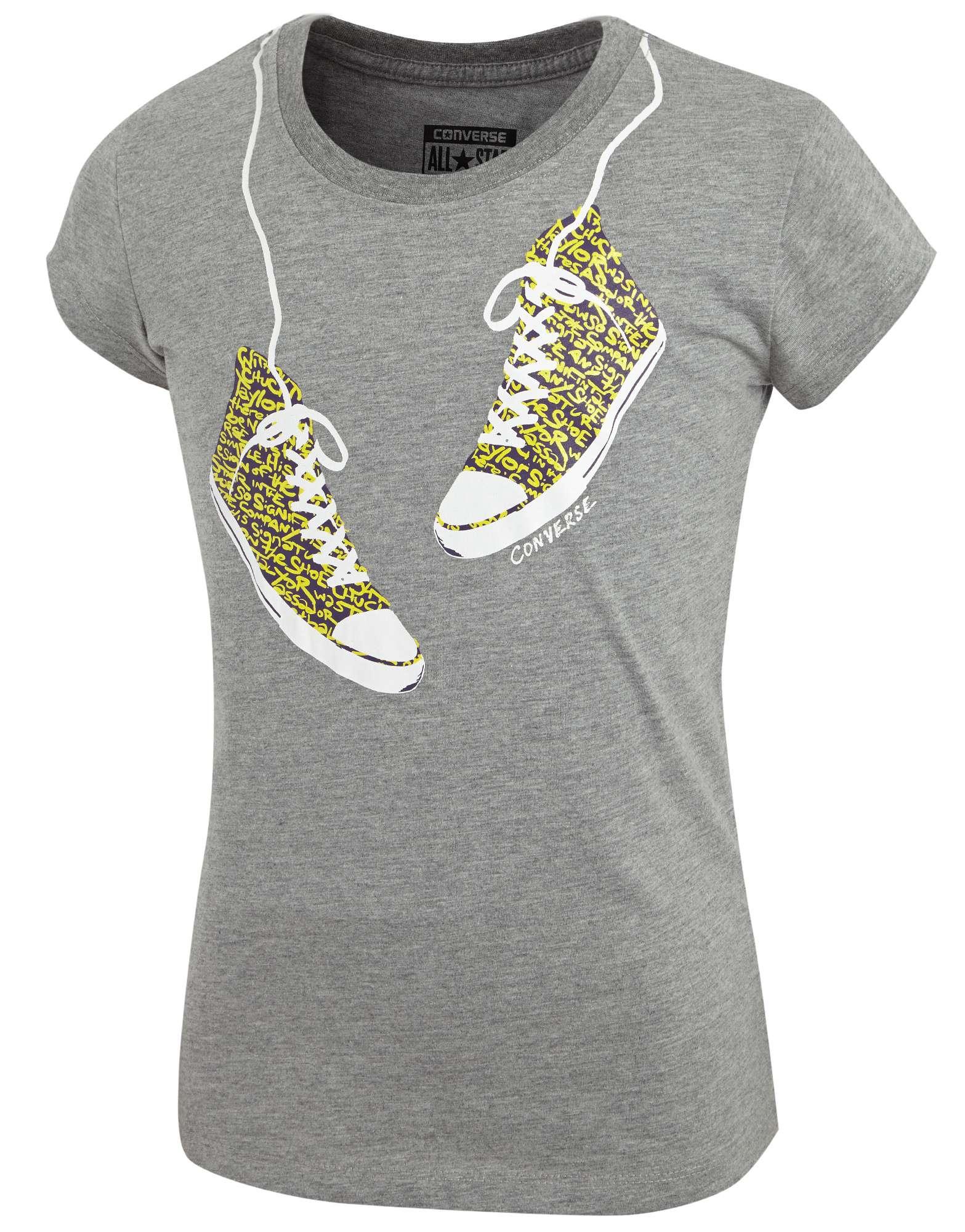 Converse Girls Sneaker T-Shirt Junior