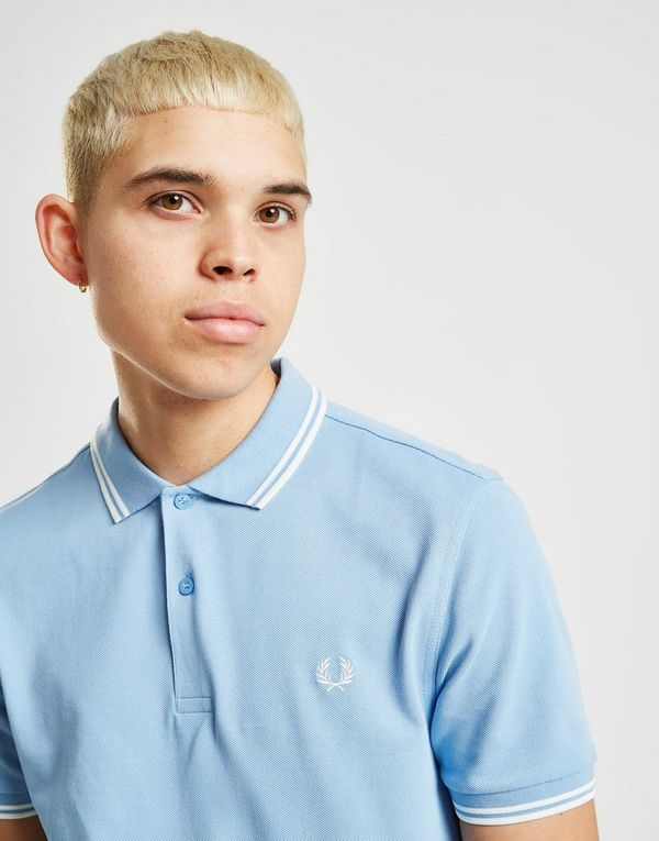 a27159e02 Fred Perry Twin Tipped Short Sleeve Polo Shirt | JD Sports Ireland