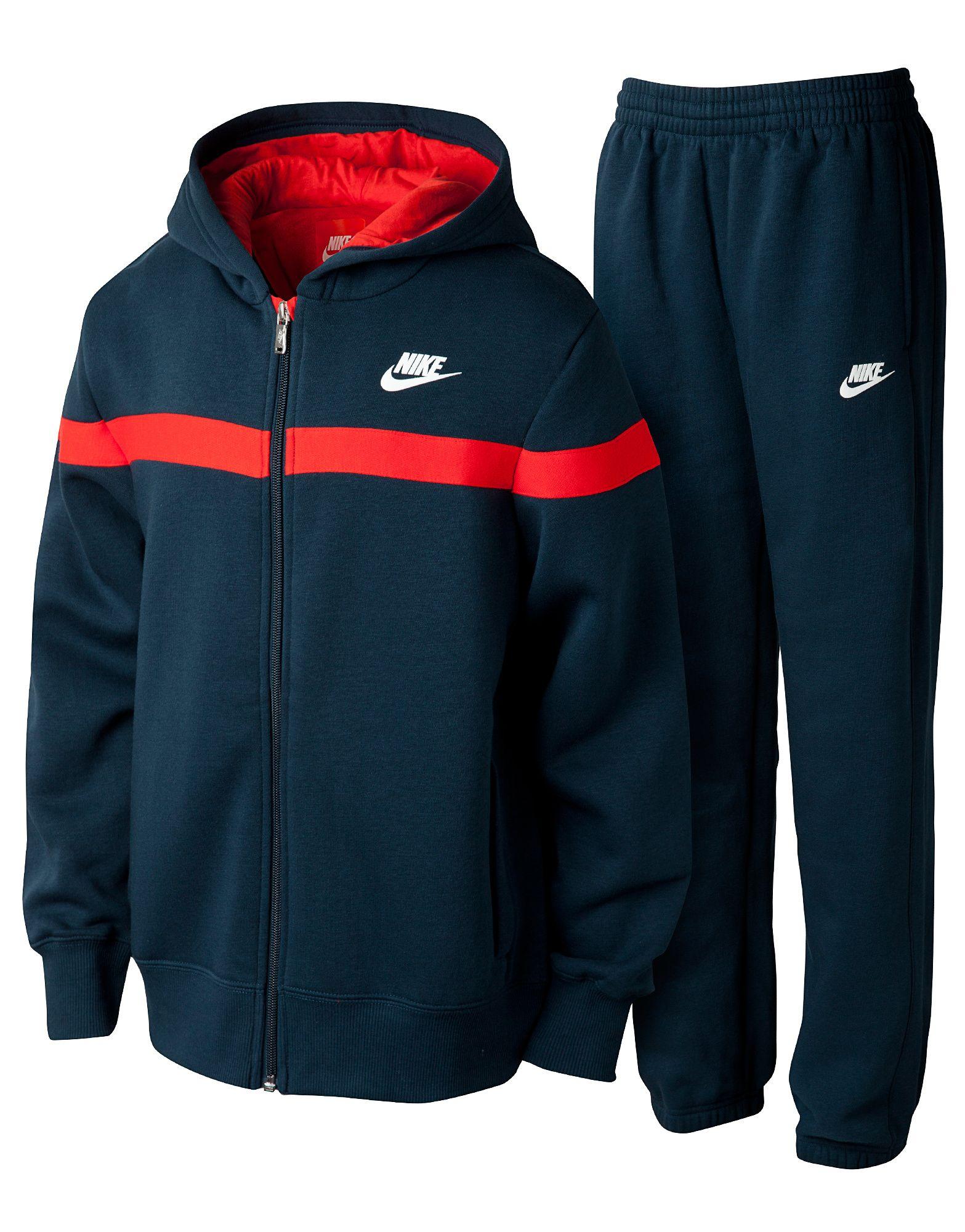 Nike Corp Fleece Suit Junior