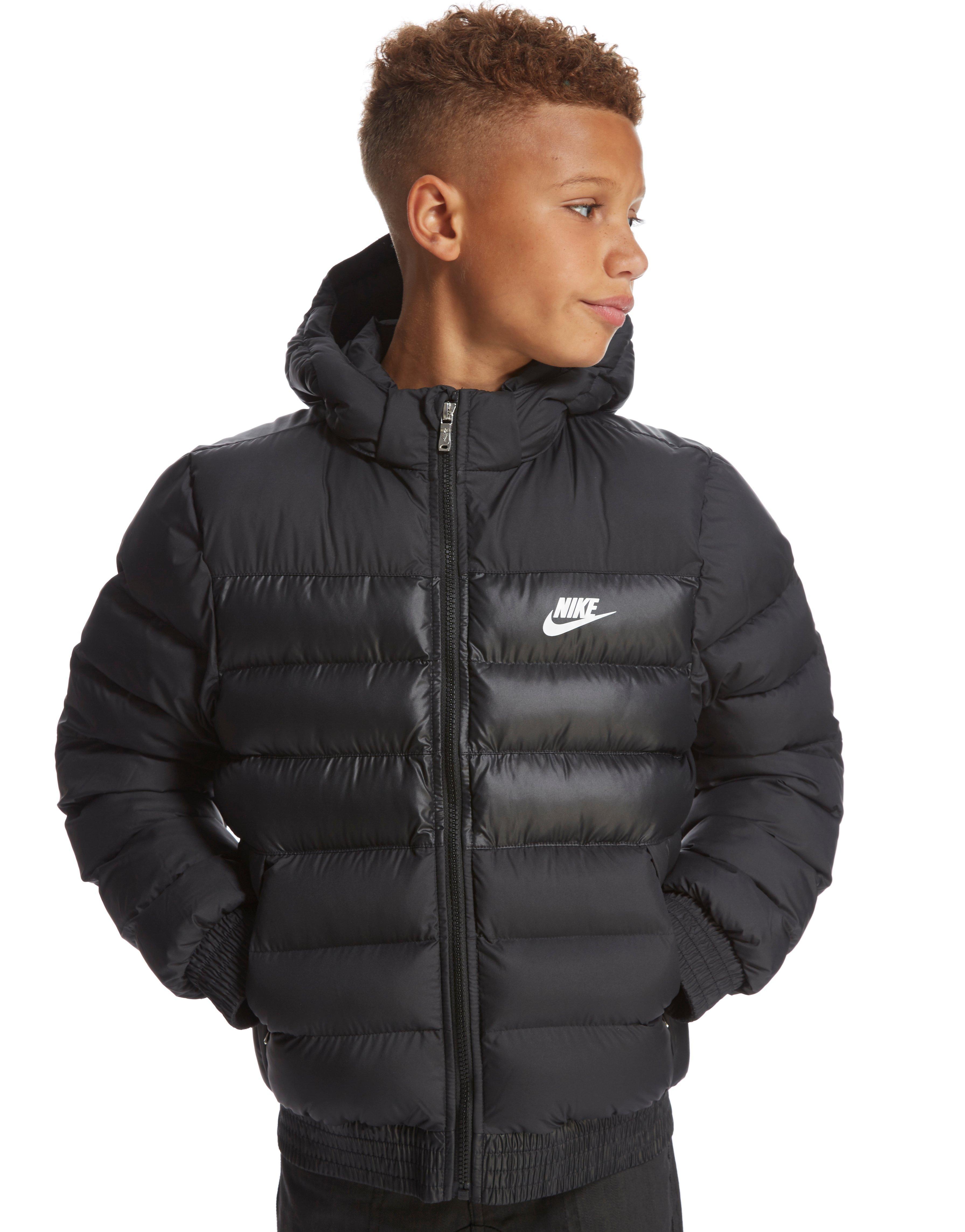 Girls Black Nike Bubble Coat  5a46cf7e3