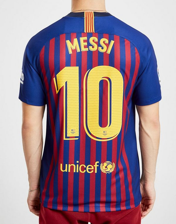Nike FC Barcelona 2018 19 Messi  10 Home Shirt  47cb63987afb1