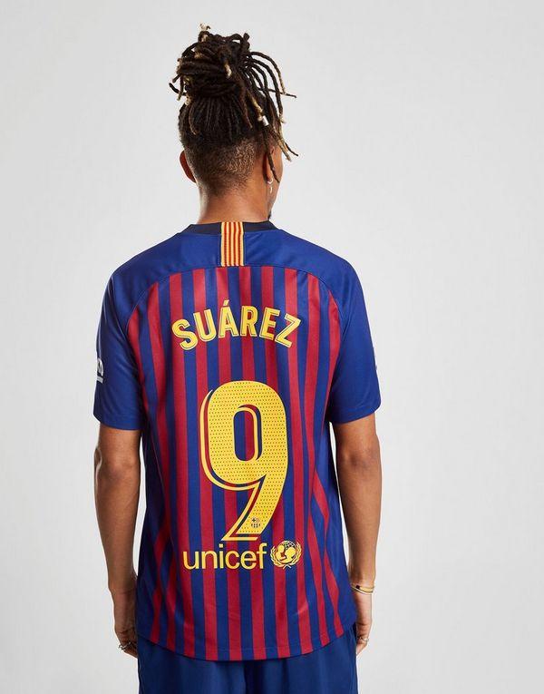 feec5c769d66f Nike FC Barcelona 2018 19 Suarez  9 Home Shirt