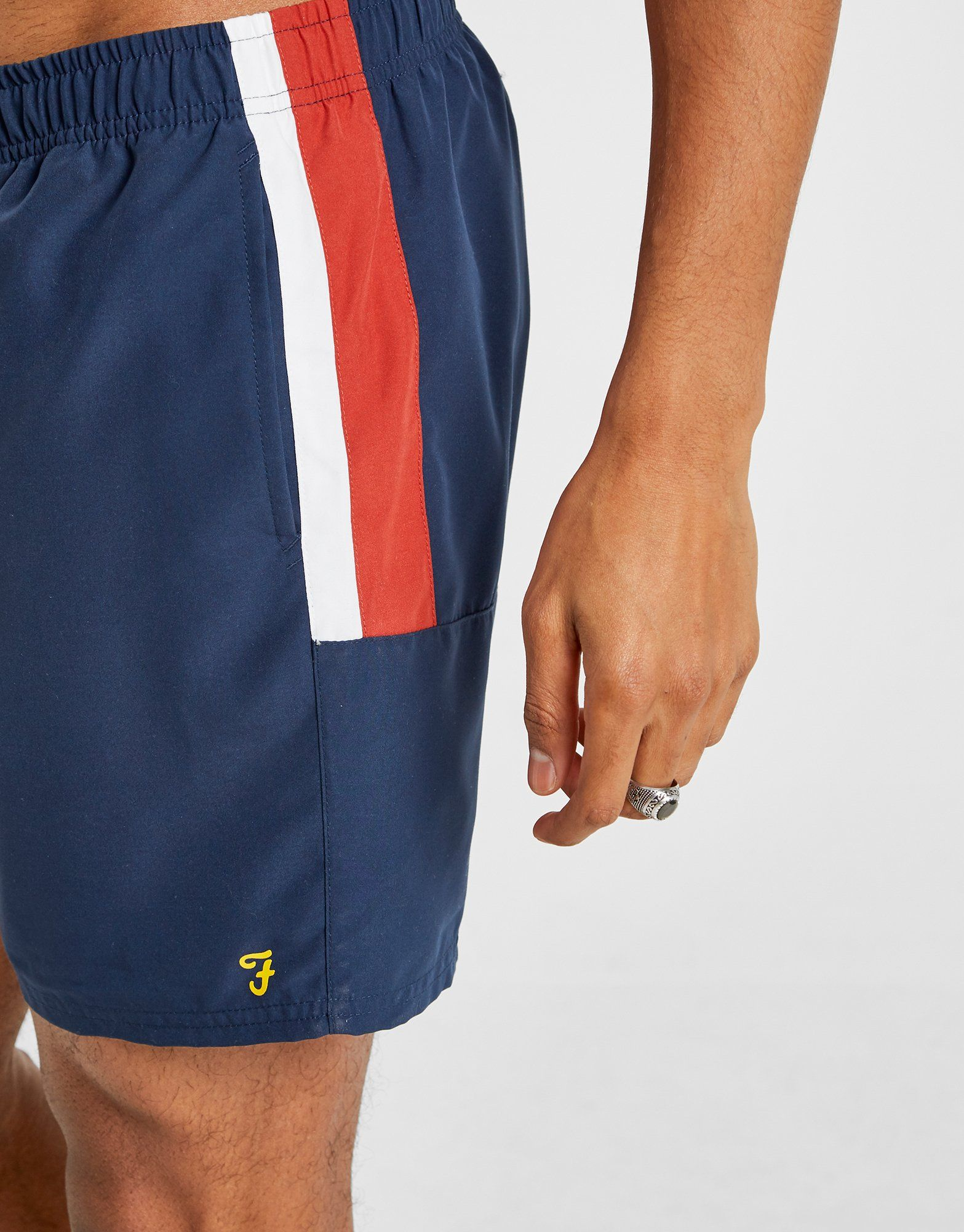 Farah Docherty Poly Swim Shorts