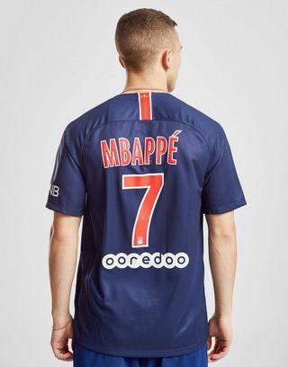 super popular 5602b 02f41 Nike Paris Saint-Germain 2018/19 Mbappe #7 Home Shirt | JD ...