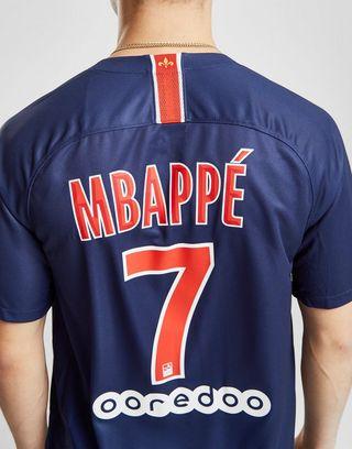 super popular aa2fe a93d4 Nike Paris Saint-Germain 2018/19 Mbappe #7 Home Shirt | JD ...